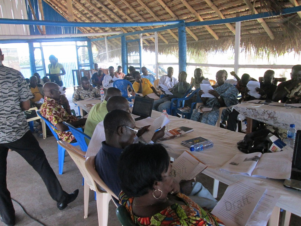 Participants at the Retreat