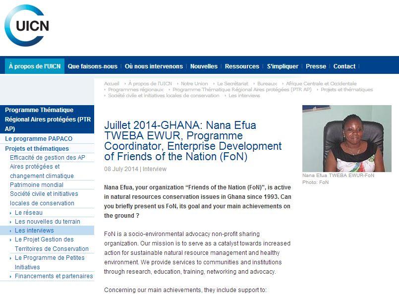 Nana Efua IUCN