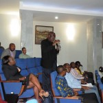 The screening was followed by a lively discussion