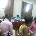 Participants of the SEND-Ghana meeting