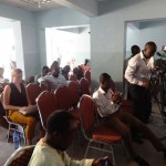 After the presentations, participants engaged in a Q&A session