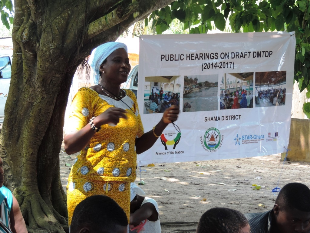 Public Hearing Anlo Beach, Shama, in Sept 2014