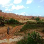 Small Scale Mining Site in Ghana