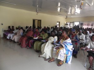 Cross-section of participants in Shama