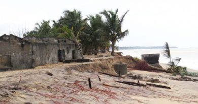 """Over 300 Anlo Beach residents rendered homeless by Tidal Waves"""