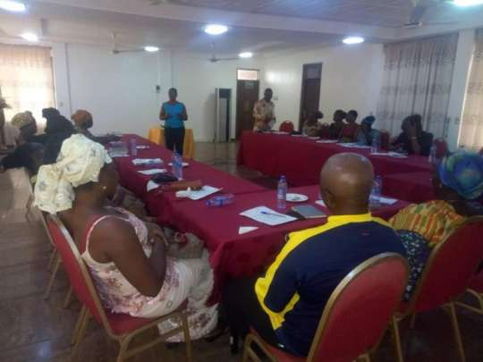 FoN trains market women in Tarkwa