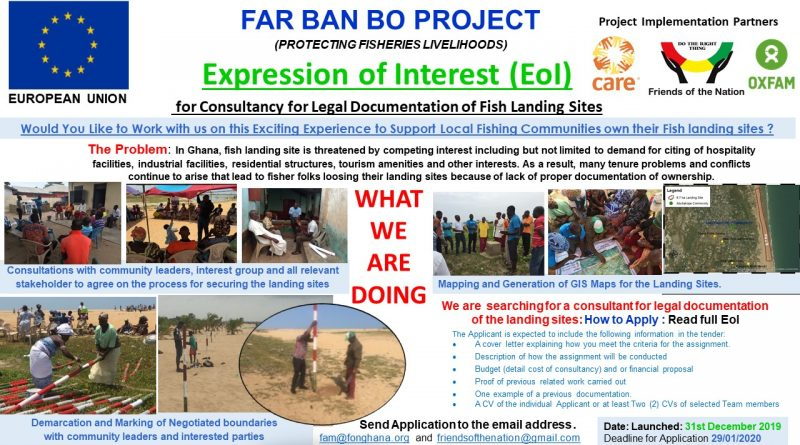 Expression of Interest (EoI) for Fish Landing Site Documentation
