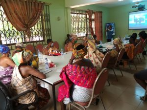 Finalization roundtable discussion of the proposal held in Takoradi