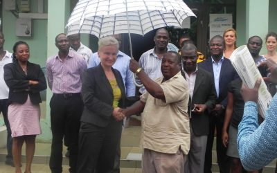 German Ambassador visits Friends of the Nation