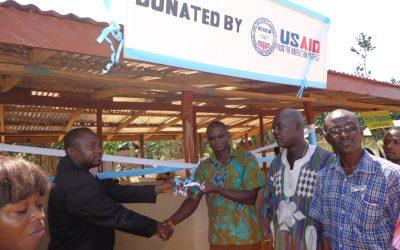 USAID's ICFG donates market to Akwidaa community