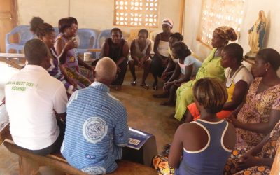 Development and implementation of Community Action Plans of Princess Akatekyi