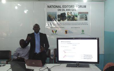 Editors' Forum on Oil & Gas Development in Ghana
