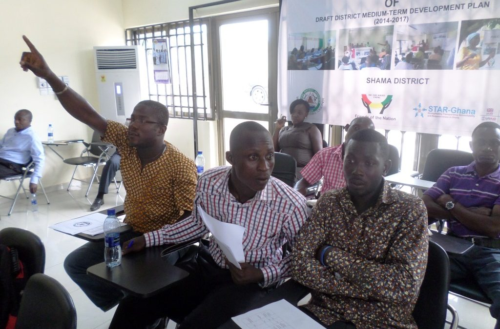 FoN supports Validation of Shama's Development Plan