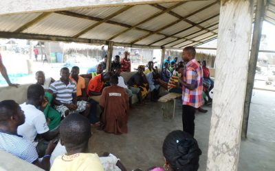 Communities plan their own development actions to address coastal resources management and climate change issues