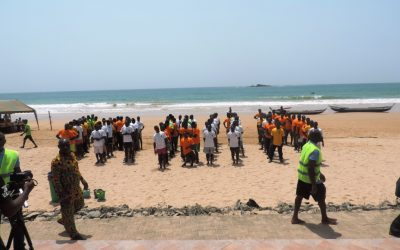 """""""Safe Fishing Saves Lives"""" – Annual Regatta for awareness raising of fisheries regulations held at Busua"""