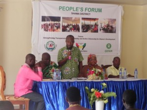 Shama DCE addressing the Forum