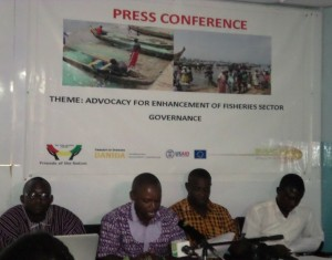 Press Engagement: Advocacy for the Enhancement of Fisheries Sector Governance