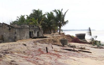 """""""Over 300 Anlo Beach residents rendered homeless by Tidal Waves"""""""