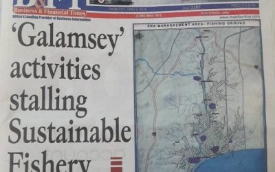 'Galamsey' activities stalling Sustainable Fishery efforts