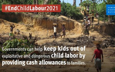 New COVID-19 Report: Meager Government Aid Leaves Children Working Long Hours for Little Pay