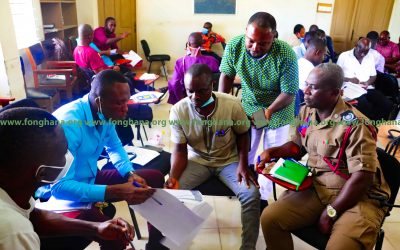 FoN Partners Shama District Assembly to review its emergency preparedness plan