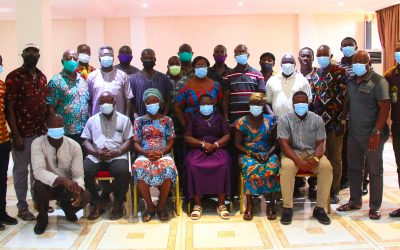 Fisheries Governance: FoN supports GNCFC and NAFPTA to assess their capacities.