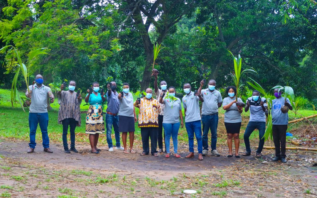 Watch: How FoN Ghana participated in the #GreenGhana Day