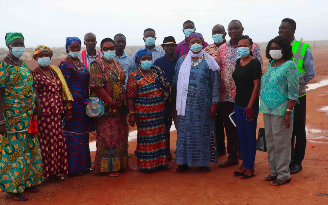 FoN supports Queen mothers to jointly inspect oil funded projects with PIAC