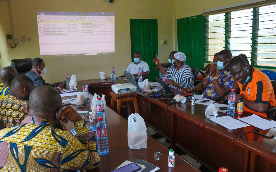 FoN and partners support Shama District Assembly to complete its Bye-Laws