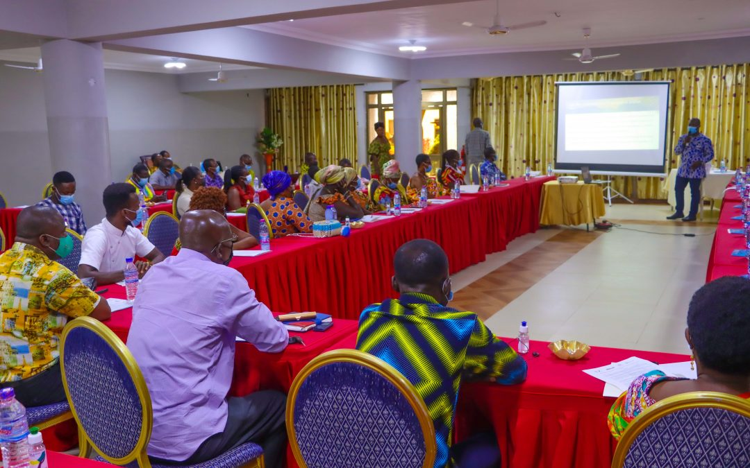 FoN and partners hold finalization meeting on Ghana's Oil Spill Contingency Plan